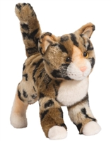 "Bengal Cat Plush Stuffed Animal ""Tashette"" SaltyPaws.com"
