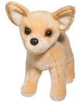 "Chihuahua Plush Stuffed Animal ""Carlos"" SaltyPaws.com"