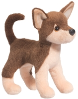 "Chihuahua Plush Stuffed Animal ""Pepito"" SaltyPaws.com"