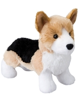 "Corgi Plush Stuffed Animal ""Shorty"" SaltyPaws.com"