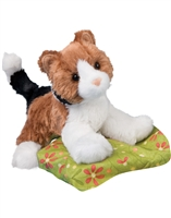 "Cat Plush Stuffed Animal ""Maps"" SaltyPaws.com"