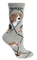 Beagle Novelty Socks SaltyPaws.com