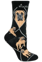 Bullmastiff Novelty Socks SaltyPaws.com