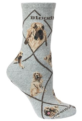 Bloodhound Novelty Socks SaltyPaws.com