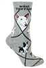 Bull Terrier Novelty Socks SaltyPaws.com