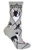 Boston Terrier Novelty Socks SaltyPaws.com