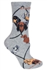 Dachshund Variety Novelty Socks SaltyPaws.com
