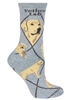 Labrador Retriever Yellow Novelty Socks SaltyPaws.com
