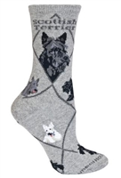 Scottish Terrier Novelty Socks SaltyPaws.com