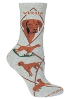 Vizsla Novelty Socks SaltyPaws.com