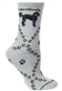 Labradoodle Novelty Socks SaltyPaws.com