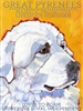 Great Pyrenees Artistic Fridge Magnet SaltyPaws.com