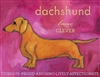 Dachshund Red Artistic Fridge Magnet SaltyPaws.com