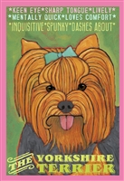 Yorkshire Terrier Artistic Fridge Magnet SaltyPaws.com
