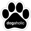 Dogaholic Paw Magnet for Car or Fridge