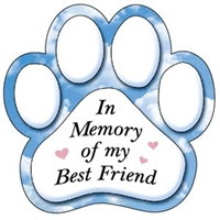 Memorial Magnet for Car or Fridge