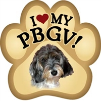 Petit Basset Griffon Vendeen Paw Magnet for Car or Fridge