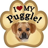 Puggle Paw Magnet for Car or Fridge