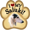 Saluki Paw Magnet for Car or Fridge