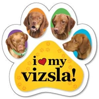 Vizsla Paw Magnet for Car or Fridge