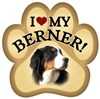 Bernese Mountain Dog Paw Magnet for Car or Fridge