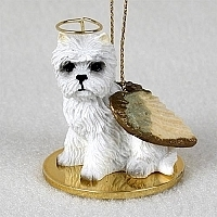 West Highland Terrier Angel Ornament