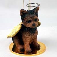 Yorkshire Terrier Angel Ornament