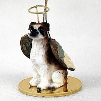 Boxer Angel Ornament