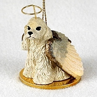 Cocker Spaniel Angel Ornament