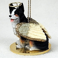 Corgi Angel Ornament