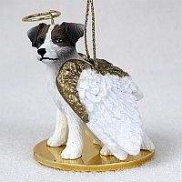 Jack Russell Terrier Angel Ornament