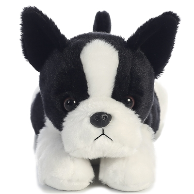 Boston Terrier Life-Size Plush SaltyPaws.com