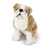English Bulldog Life-Size Plush SaltyPaws.com