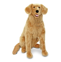 Golden Retriever Life-Size Plush SaltyPaws.com