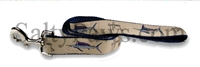 Guy Harvey Khaki Grand Slam Swordfish Dog Lead SaltyPaws.com