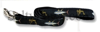 Guy Harvey Black Yellowfin Tuna Dog Lead SaltyPaws.com
