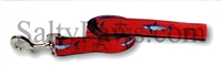 Guy Harvey Red Mako Shark Dog Lead SaltyPaws.com