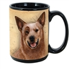 Australian Cattle Dog Coastal Coffee Mug Cup www.SaltyPaws.com