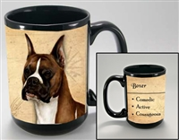 Boxer Cropped Coastal Coffee Mug Cup www.SaltyPaws.com