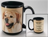 Labrador Retriever Yellow Coastal Coffee Mug Cupwww.SaltyPaws.com