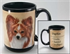 Papillon Coastal Coffee Mug Cup www.SaltyPaws.com