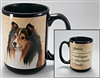 Shetland Sheepdog Coastal Coffee Mug Cup www.SaltyPaws.com