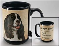 Springer Spaniel Coastal Coffee Mug Cup www.SaltyPaws.com