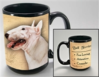 Bull Terrier Coastal Coffee Mug Cup www.SaltyPaws.com
