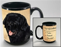 Newfoundland Coastal Coffee Mug Cup www.SaltyPaws.com