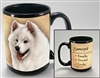 Samoyed Coastal Coffee Mug Cup www.SaltyPaws.com