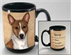 Basenji Coastal Coffee Mug Cup www.SaltyPaws.com