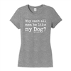 Dog Hair Don't Care Tee Women's,Clothing for Dog Lovers,Dog is Good Apparel,www.SaltyPaws.com