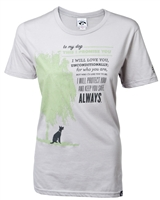 To My Dog This I Promise You Tee Womens,Never Walk Alone Tee,Clothing for Dog Lovers