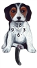 Beagle Wagging Tail Clock www.SaltyPaws.com